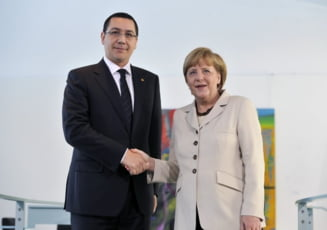 Ponta, la Berlin: Ramane sa dovedim ca putem fi un guvern mai eficient