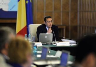 Ponta, la Guvern: Aici nu suntem PSD, PNL, PC sau UNPR, suntem Guvernul