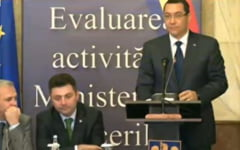 Ponta, la bilantul MAI: In 2015 voi fi tot aici, indiferent de scaunul pe care il voi ocupa