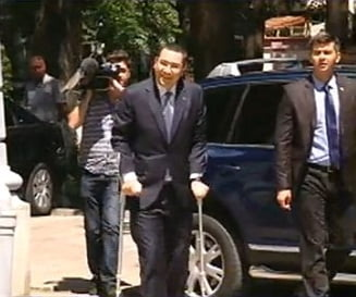 Ponta, la control in Turcia - cand se intoarce in tara