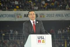 Ponta, la mitingul USL: Basescu, ultimul comunist si securist al Europei