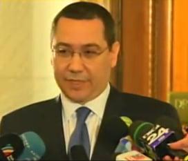 Ponta, laude pentru un ministru: A ales sa castige de trei ori mai putin. S-a jertift pentru binele tarii
