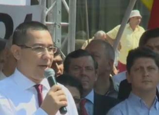 Ponta, mandru sa fie injurat de Basescu: un scorpion speriat, gata sa intepe pe toti (Video)
