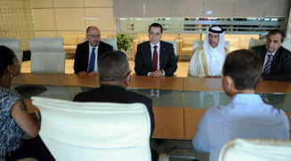 Ponta, nemultumit ca Romania nu are atasat comercial in Qatar: Nu stim sa ne promovam interesele