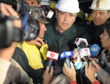 """Ponta, nemultumit de oamenii politici care """"s-au invartit ca titirezul"""" fata de proiectul RMGC"""