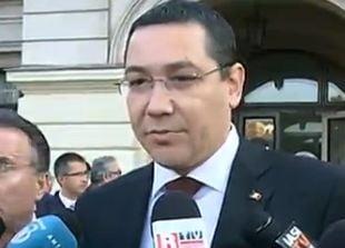 Ponta, prima reactie dupa dezvaluirile lui Basescu: Sunt numai minciuni. O sa ma rog si pentru el