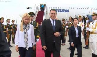 Ponta a ajuns in China, dupa ce a zburat prin Ucraina