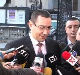 Ponta a comentat Veto-ul Germaniei - vezi cea mai mare prostie, cine are minte putina si cine da gauri in barca (Video)