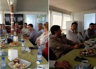 Ponta a dus Guvernul in team-building in Delta Dunarii (Foto)