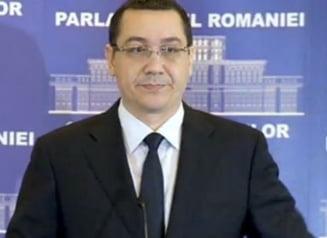 Ponta a prezentat noul Guvern: Vezi care sunt noii ministri (Video)