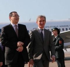 Ponta a renuntat la vizita fulger la Chisinau