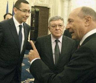 """Ponta a trimis doi ministri cu Basescu in SUA, ca sa se stie ca """"avem si oameni seriosi"""""""