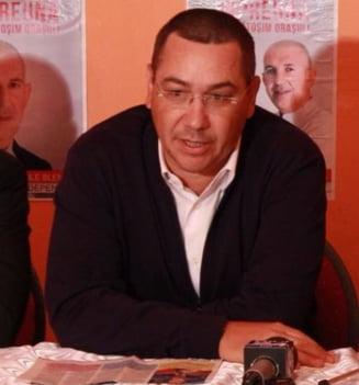 Ponta anunta ca Pro Romania nu sustine motiunea de cenzura a PNL: Nimic nu se castiga, eventual o noua criza politica
