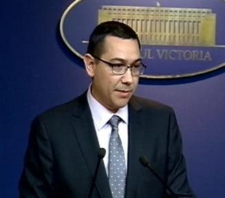 Ponta anunta ca vine un miliard de euro de la Banca Mondiala