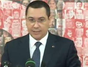 Ponta anunta cand va propune Parlamentului noua structura a Guvernului (Video)