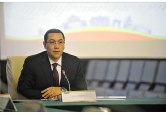 Ponta anunta cand vor fi revocati Chitoiu, Nicolaescu si Gerea