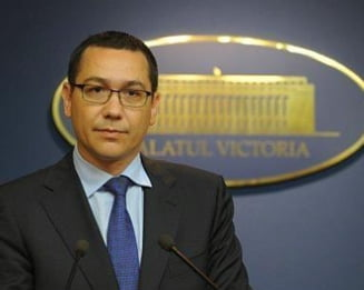 Ponta are de gand sa remanieze Guvernul dupa 10 decembrie