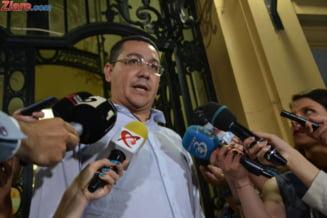 Ponta are trei nume de potential premier PSD: Dragnea, Plumb si Teodorovici