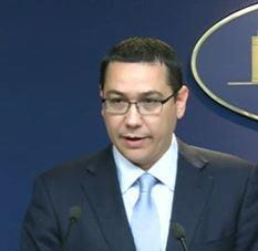 """Ponta ataca CCR si Avocatul Poporului pentru ordonanta """"bani pentru primarii"""""""