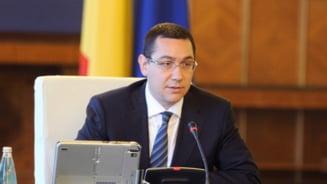 Ponta avizeaza scaderea cvorumului de participare la referendum: Boicotul nu e o exprimare (Video)