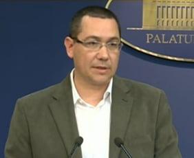 Ponta cere CCR sa spuna daca presedintele poate face campanie electorala