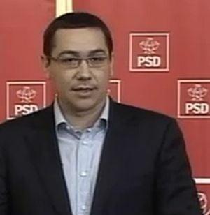Ponta cere ca sedintele Parlamentului sa fie publice