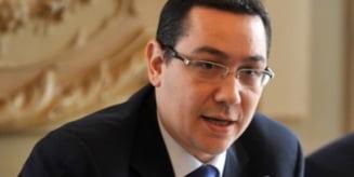 Ponta continua rafuiala cu Adrian Sarbu: Mi-a zis ca are niste controale si daca pot sa le opresc