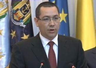 Ponta da asigurari: Romania nu e in pericol de razboi (Video)