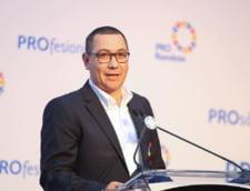 Ponta deplange impozitarea pensiilor speciale si sustine renuntarea la cota unica