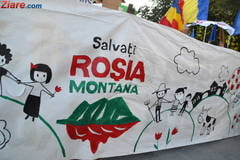 Ponta despre procesul pentru Rosia Montana: Astept sa se razgandeasca din nou dl. Antonescu