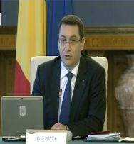Ponta despre raportul pe Justitie: Nu reusesc sa gasesc doi ministri cercetati penal (Video)