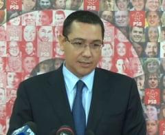 Ponta despre trimiterea in judecata a lui Dragnea: Nici vorba sa-l demitem din Guvern (Video)