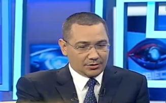 Ponta explica de ce a castigat Dragnea sefia PSD: El e cel care practic a condus partidul