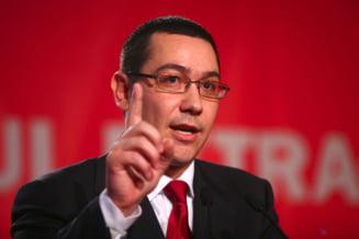 Ponta explica de ce nu a fost prezent la depunerea juramantului de catre Toni Grebla