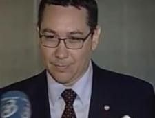 Ponta face apel la votarea motiunii: Nu trebuie sa stati ca oile in banca