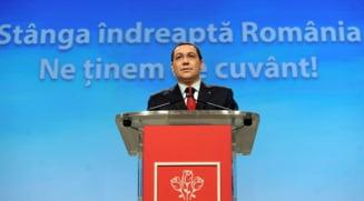 Ponta face bilantul guvernarii pe blog: Situatie fara precedent