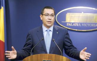 Ponta face opozitie Guvernului (Opinii)