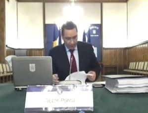 Ponta i-a cerut demisia lui Cazanciuc daca nu ia masuri dupa violul din Vaslui (Video)