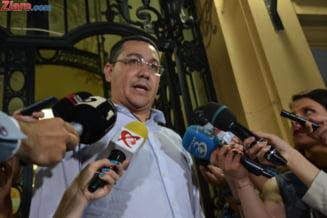 Ponta ii ataca pe ministrii care isi retrag demisiile: E ilegal si ridicol. Nimeni nu incalca legea pentru ei