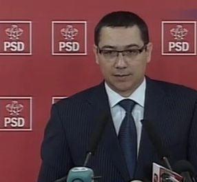 Ponta ii contreaza pe Nastase si Iliescu si ameninta cu Congresul
