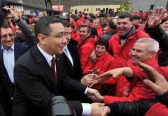 Ponta ii da replica lui Basescu: E disperat ca intra la inchisoare