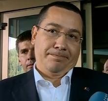 Ponta ii da replica lui Basescu: Nu stie sa munceasca si atunci face galagie