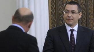 Ponta ii raspunde lui Basescu: E iresponsabil, face declaratii pur politice