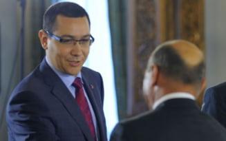 Ponta ii raspunde lui Basescu: Presedintele este un fel de somer de lux