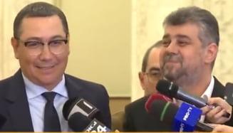 """Ponta ii recomanda lui Ciolacu sa """"scape de tradatori, vanzatori, baroni si sa faca o echipa noua"""""""