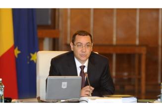 Ponta ii scrie lui Basescu: Va rog sa promulgati Legea referendumului