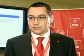 Ponta ii vrea in PSD doar pe cei care vor sa se bata cu Basescu