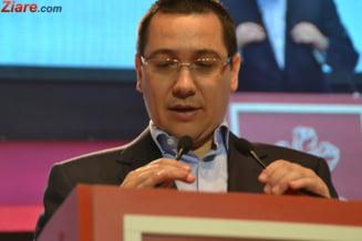 Ponta il acuza pe Dragnea ca a facut in Israel intelegeri contra intereselor Romaniei