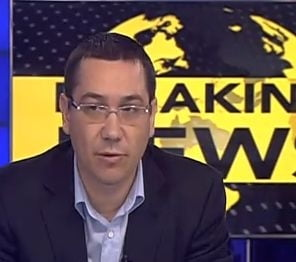 Ponta il apara pe Vosganian in chestiunea Oltchim: Tonul a fost gresit, dar fondul corect