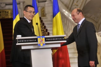 Ponta il ataca dur pe Basescu: Minte pentru a se apara